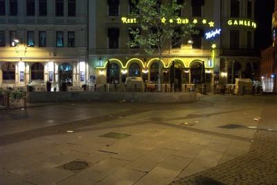 Todo sucede en la calle Kungsgatan de Göteborg